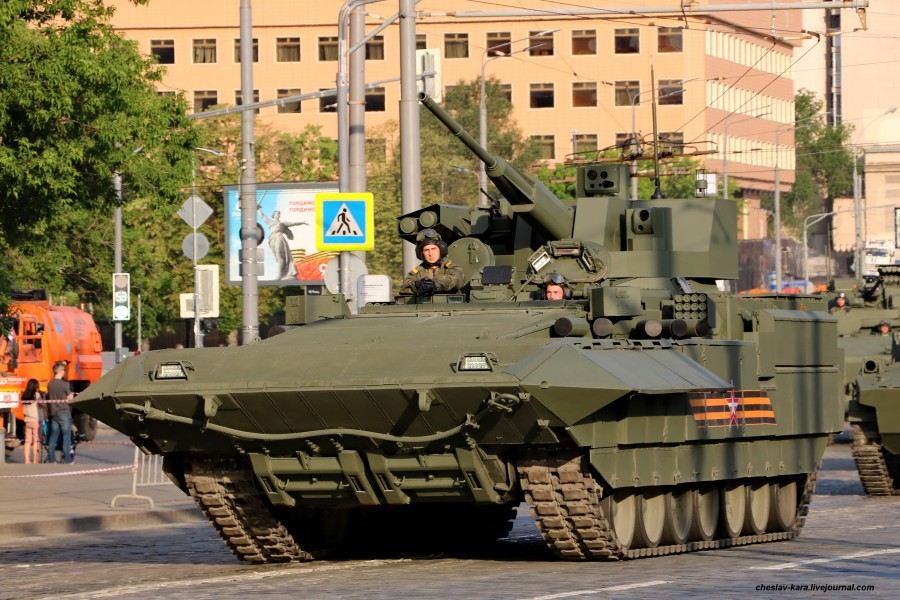 130 - БМП Т-15 с  БМ Кинжал (Парад Победы 2020) _200.JPG