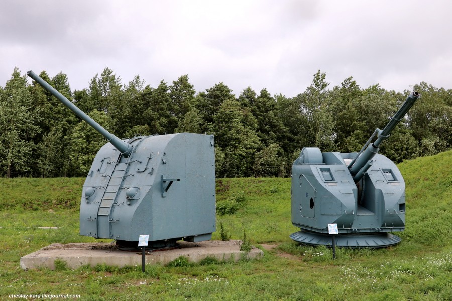 76 мм АК-176 и 100 мм Б-34УСМ _10 (бат Демидов, Кр-дт).JPG