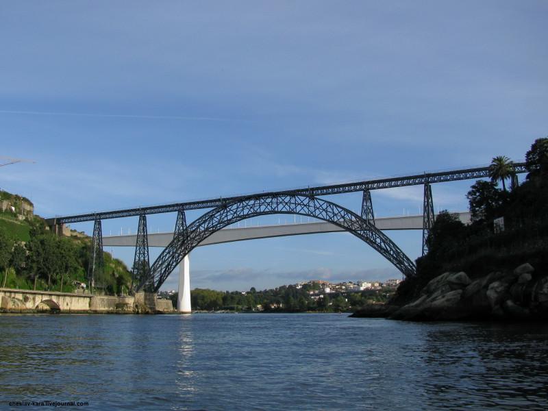 Португалия, Порту - мосты _ 1910 Maria Pia.jpg
