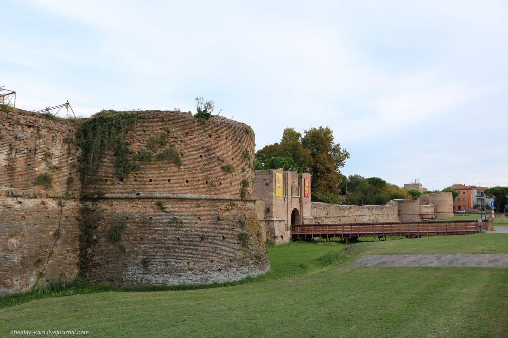 Крепость Рокка Бранкалеоне, Равенна