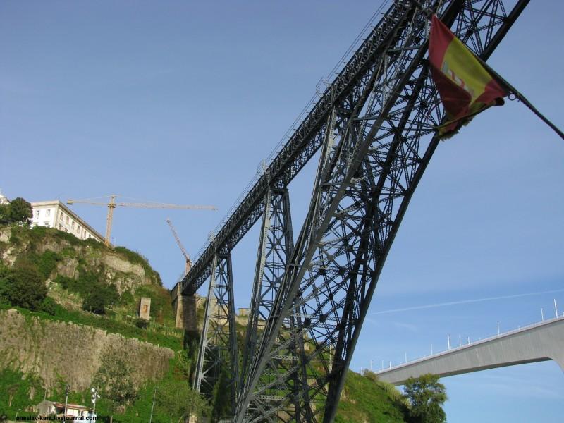 Португалия, Порту - мосты _ 2100 мост Марии Пии.jpg