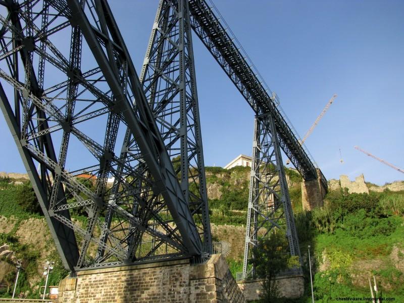 Португалия, Порту - мосты _ 2200 мост Марии Пии.jpg