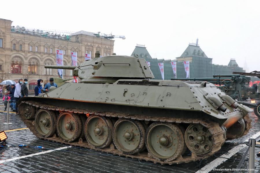 92 Т-34 (76) обр1941г _180 (Мск, КП, 8ноя2020).JPG