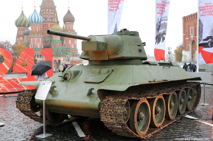 100 Т-34 (76) обр1943г _40 (Мск, КП, 8ноя2020).JPG