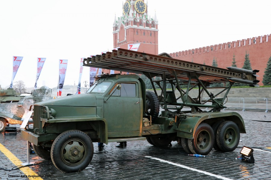 180 БМ-13 на Студебеккер US6 _30  (Мск, КП, 8ноя2020).JPG