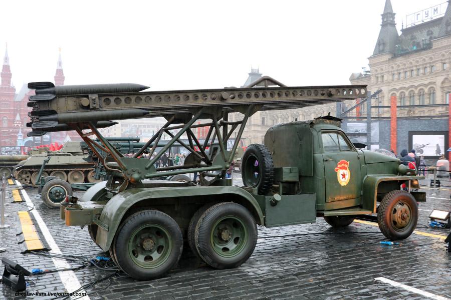 182 БМ-13 на Студебеккер US6 _70  (Мск, КП, 8ноя2020).JPG