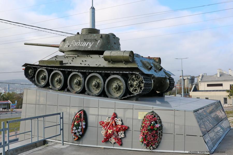 Т-34-85 (Новор-ск) _70 (2020г).JPG