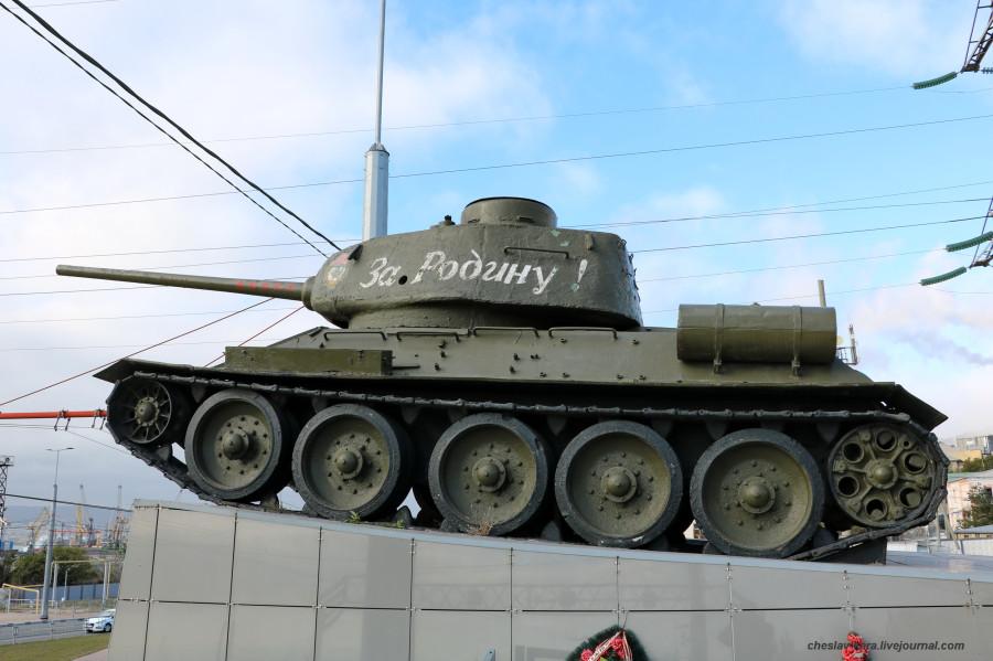Т-34-85 (Новор-ск) _90 (2020г).JPG