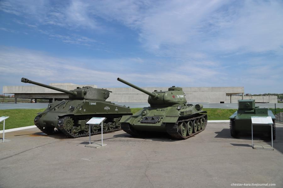 0 M4A2 Шерман и Т-34-85 (Тула, Патриот) _110.JPG