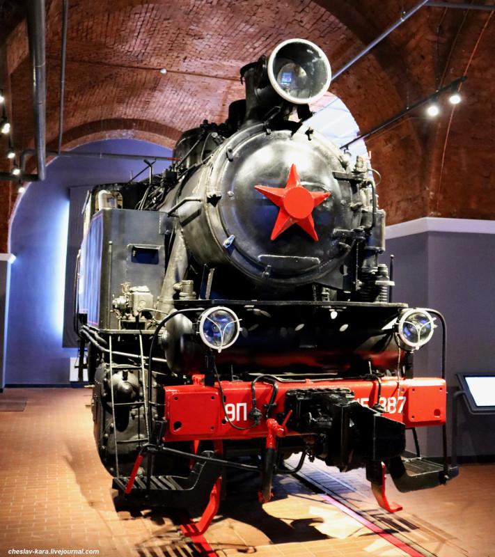 паровоз 9П 15-387 (ЖД музей, СПб) _20.JPG