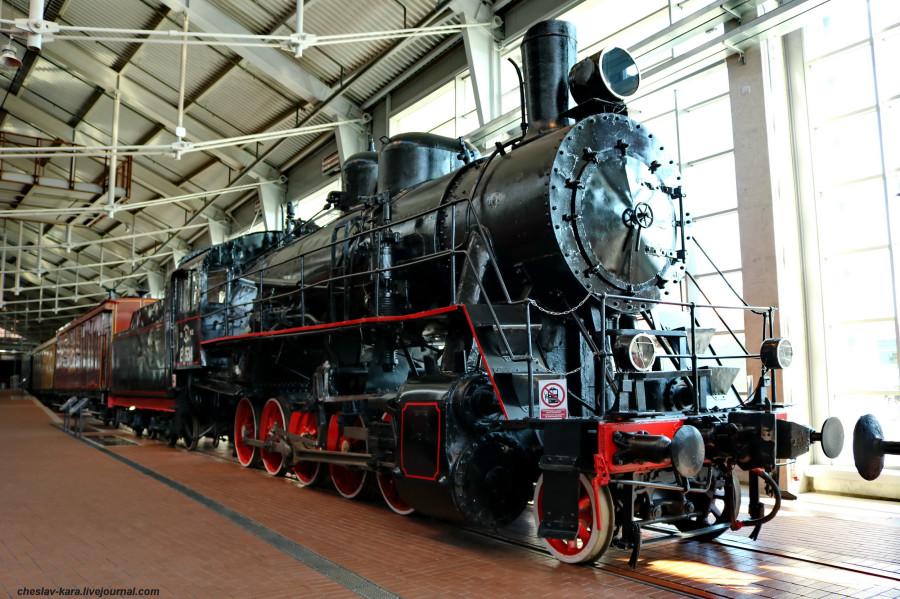 паровоз Ел-534 (ЖД музей, СПб) _70.JPG