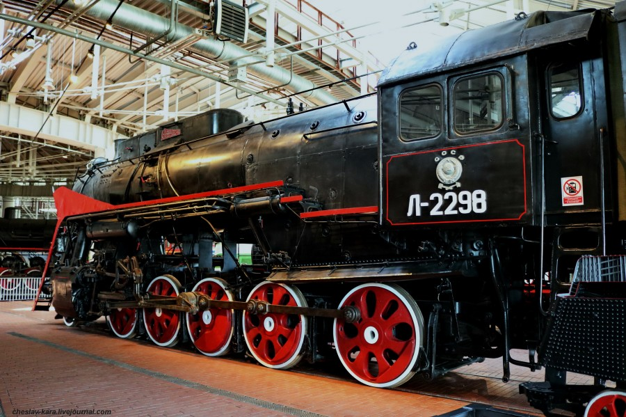 паровоз Л-2298 (ЖД музей, СПб) _260.JPG