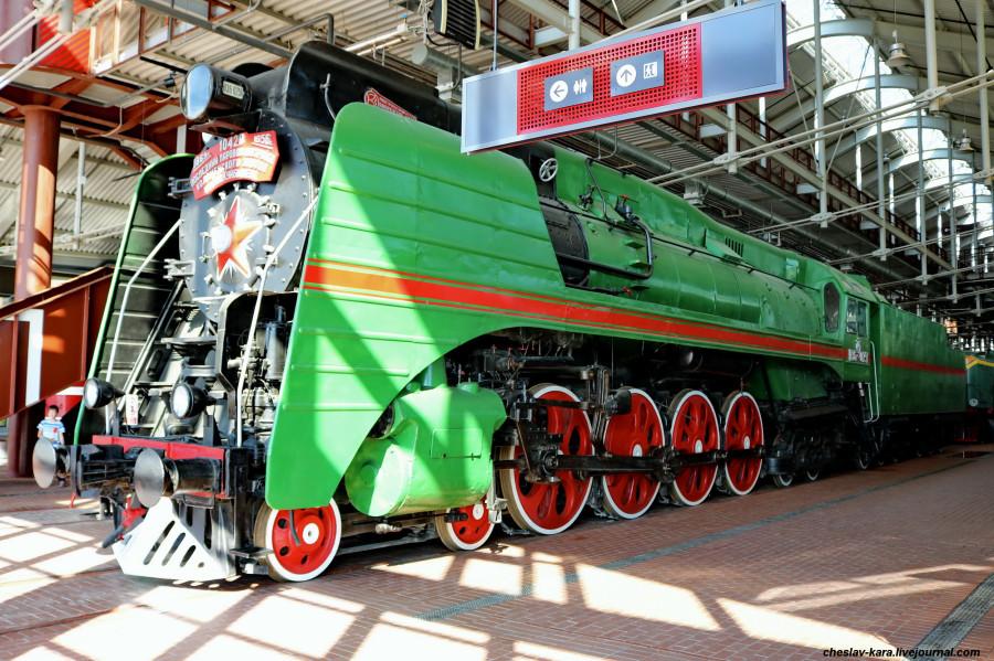 паровоз П36-0251 (ЖД музей, СПб) _130.JPG