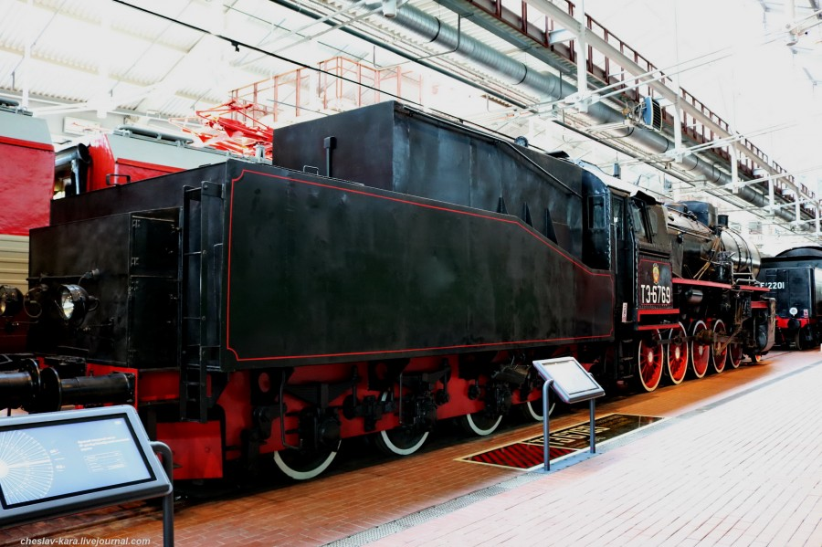 паровоз ТЭ-6769 (ЖД музей, СПб) _80.JPG
