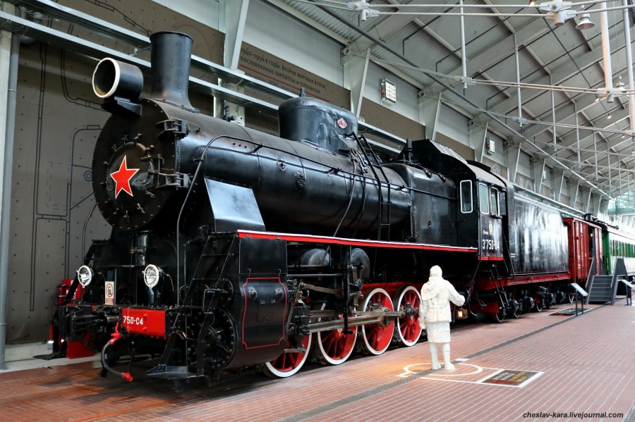 паровоз Эр 750-04 (ЖД музей, СПб) _10.JPG