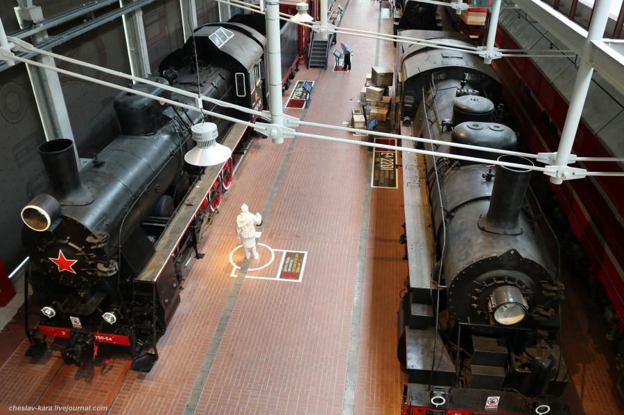 Музей железных дорог России, ч.1 - паровозы
