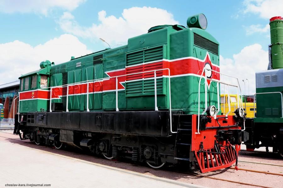 тепловоз ВМЭ-1-024 (ЖД музей, СПб) _120.JPG