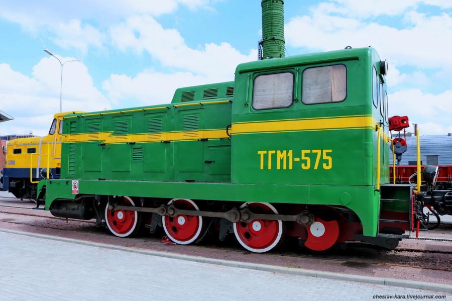 тепловоз ТГМ1-575 (ЖД музей, СПб) _152.jpg