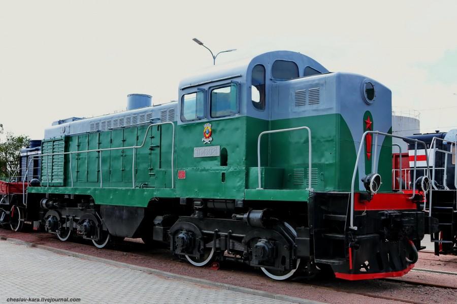 тепловоз ТГМ3-021 (ЖД музей, СПб) _120.JPG