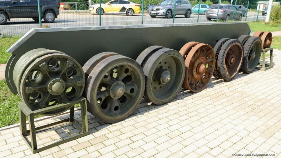 0 танк Лебеденко (макет) _40 (музей Т-34).JPG