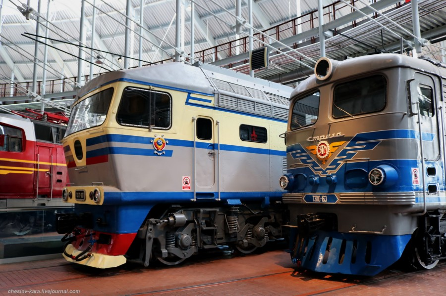 Музей железных дорог России, ч.2 - тепловозы.
