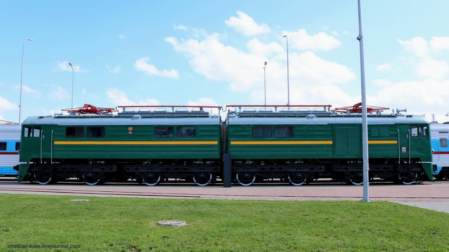 электровоз ВЛ8-1522 (ЖД музей, СПб) _120.JPG
