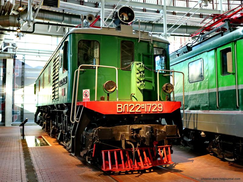электровоз ВЛ22м-1729 (ЖД музей, СПб) _140.JPG