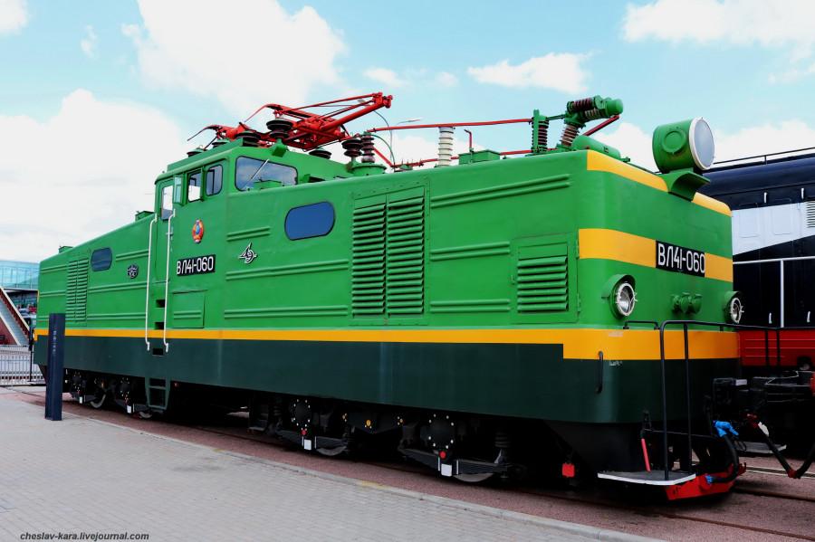 электровоз ВЛ41-060 (ЖД музей, СПб) _120.JPG