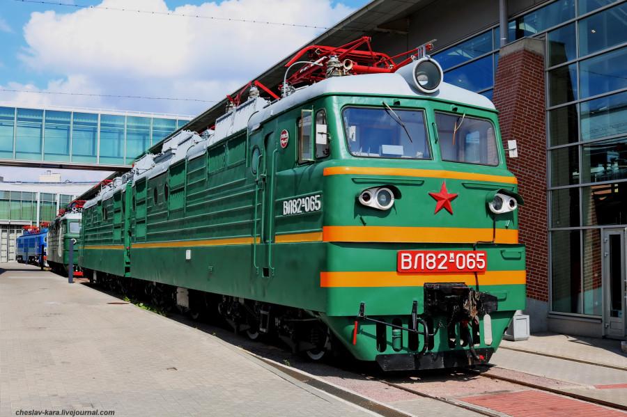 электровоз ВЛ82м-065 (ЖД музей, СПб) _100.JPG