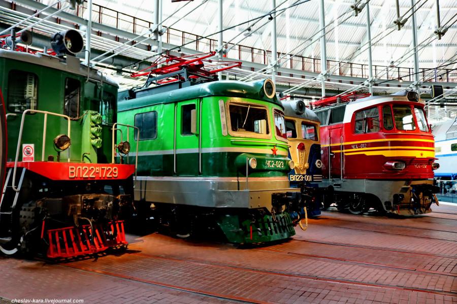 Музей железных дорог России, ч.3 - электровозы.
