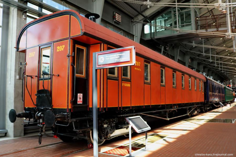 4 1 вагон II кл 1899г (ЖД музей, СПб) _100.JPG