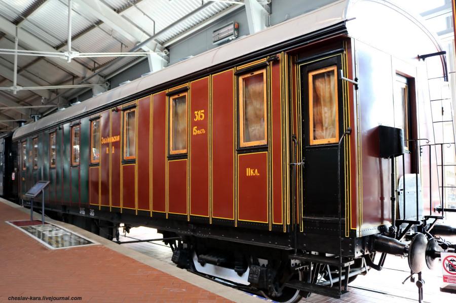 6 1 вагон II и III кл (ЖД музей, СПб) _120.JPG