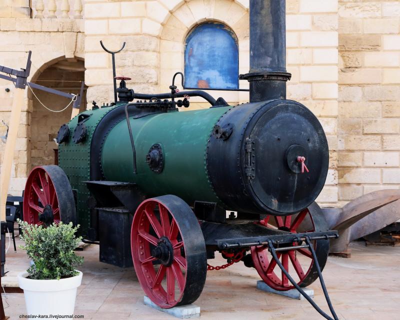 паромобиль (Мальта, Maritime Museum) _70.JPG