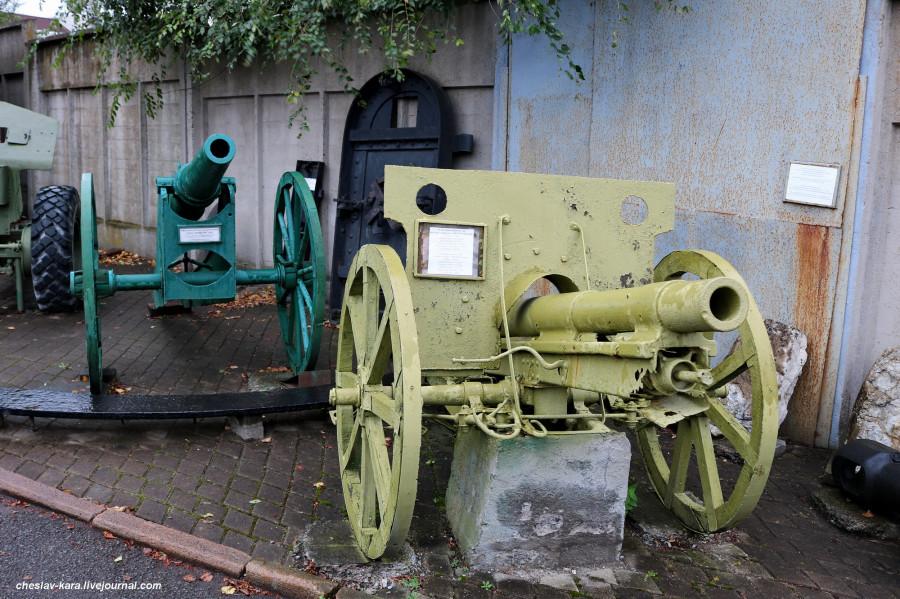 36 75 мм тип 38 японская и 87мм обр 1867г  (бат Безымянная, Влад-к) _10.JPG