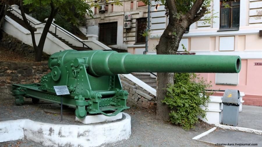 26 152 мм 28кл обр1877г на станке Пестича (музей ТОФ) _20.JPG
