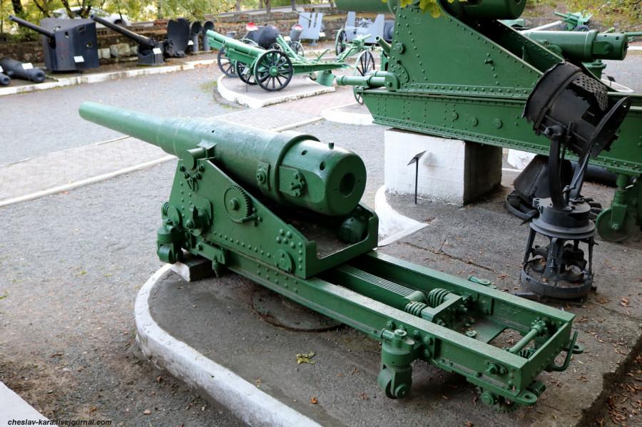 28 152 мм 28кл обр1877г на станке Пестича (музей ТОФ) _30.JPG