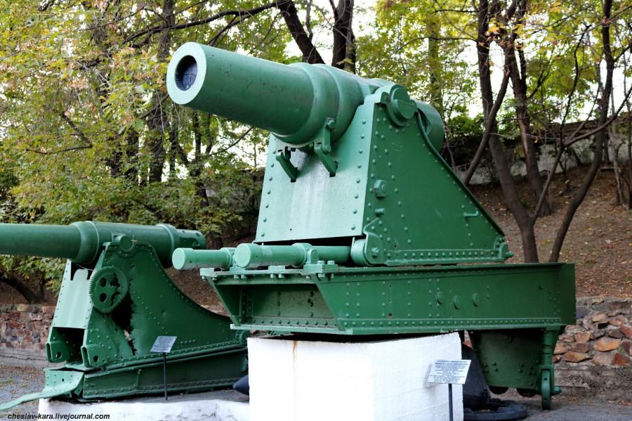 30 229 мм мортира обр1877 на ст Дурляхера (музей ТОФ) _20.JPG