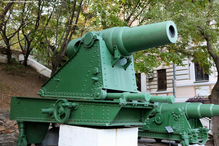 32 229 мм мортира обр1877 на ст Дурляхера (музей ТОФ) _30.JPG