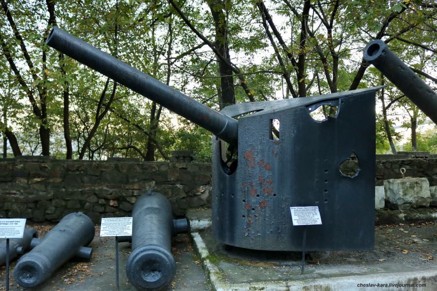 42 120 мм Круппа (музей ТОФ) _20.JPG