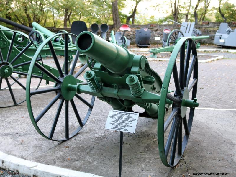 66 152 мм полевая мортира обр1883 (музей ТОФ) _20.JPG
