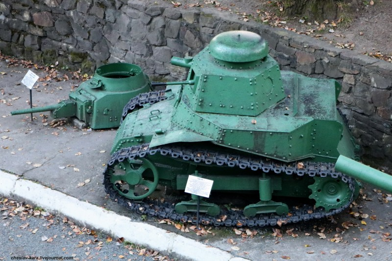 92 танк МС-1 (музей ТОФ) _50.JPG
