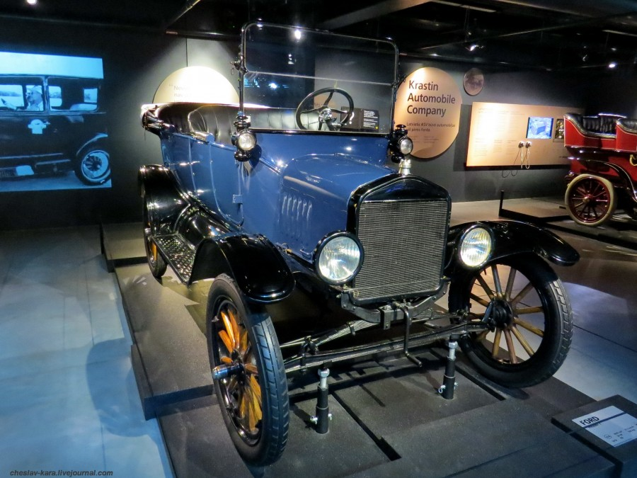 265 Ford T (Рига, Мотормузей).JPG