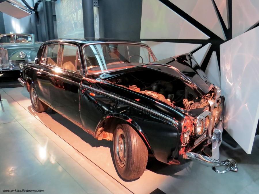1190 Rolls-Royce Silver Shadow и Брежнев (Рига, Мотормузей).JPG