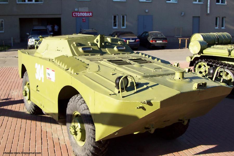 Военная техника в Пензе.