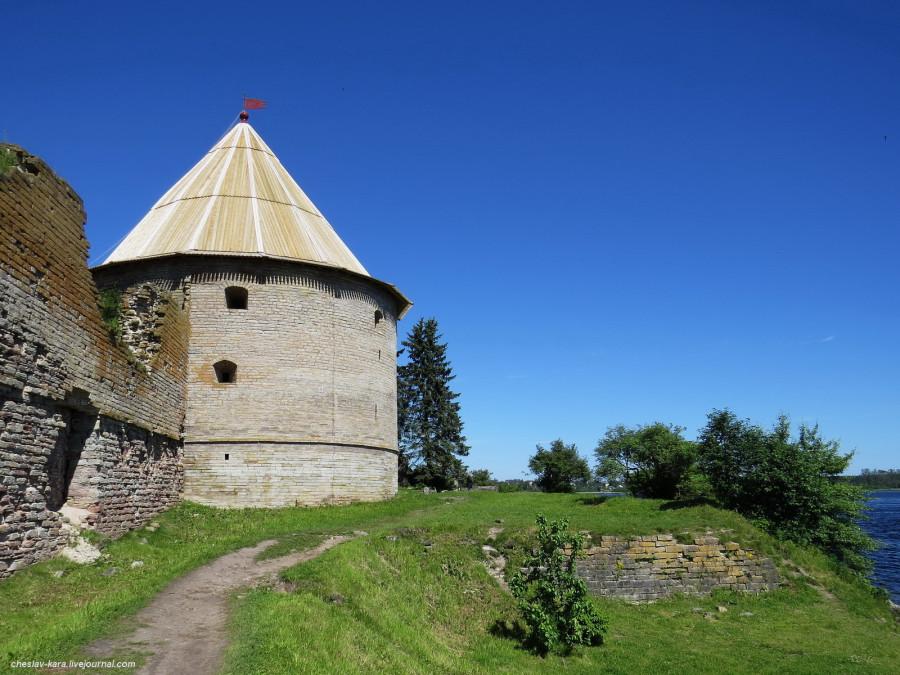 Крепость Шлиссельбург (Орешек) - ключ к Неве. -