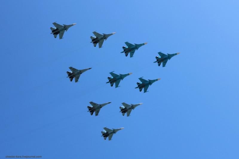 Парад Победы 2018 _13100 Су-34, Су-30СМ, Су-35.JPG