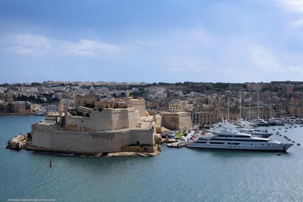 От Св.Эльма до Св.Ангела – укрепления Гранд-Харбора (Мальта)