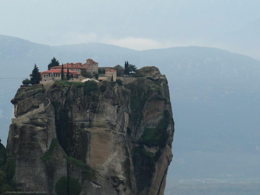 12 Греция 5 - Метеоры _2202 Монастырь Святой Троицы.jpg