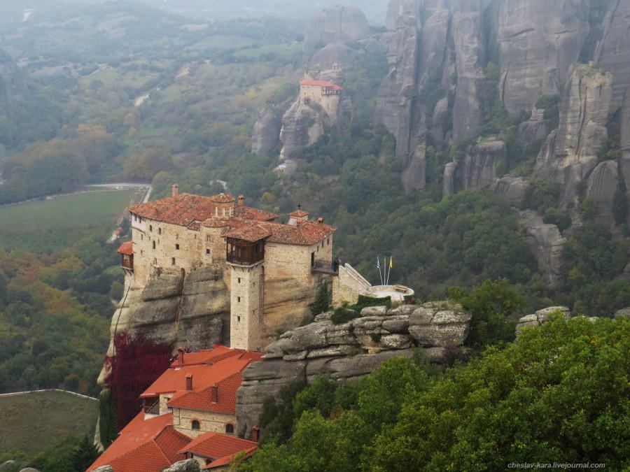 22 Греция 5 - Метеоры _6120 Монастырь Русану (Св.Варвары).JPG
