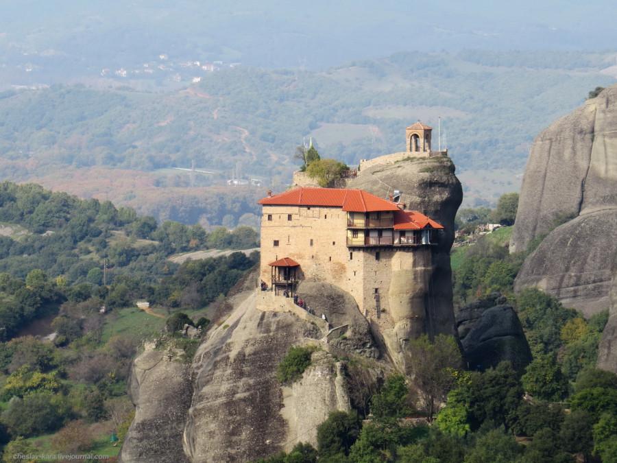 32 Греция 5 - Метеоры _7870 Монастырь Святого Николая Анапавсаса.JPG